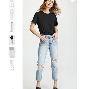Levi's Wedgie Selvedge Straight Jeans sz 30